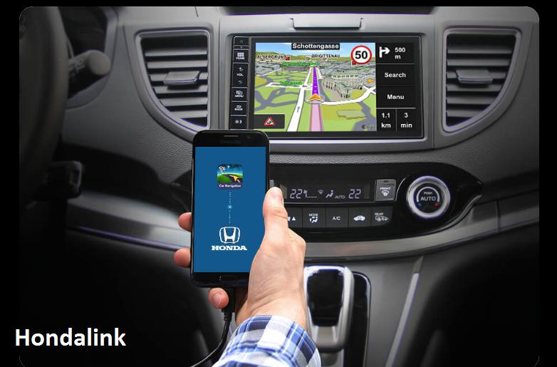 Honda - Sygic Car navigation - 1