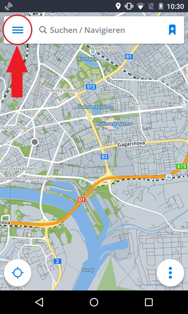 Karten- und Datenspeicherung - Sygic GPS Navigation for ...