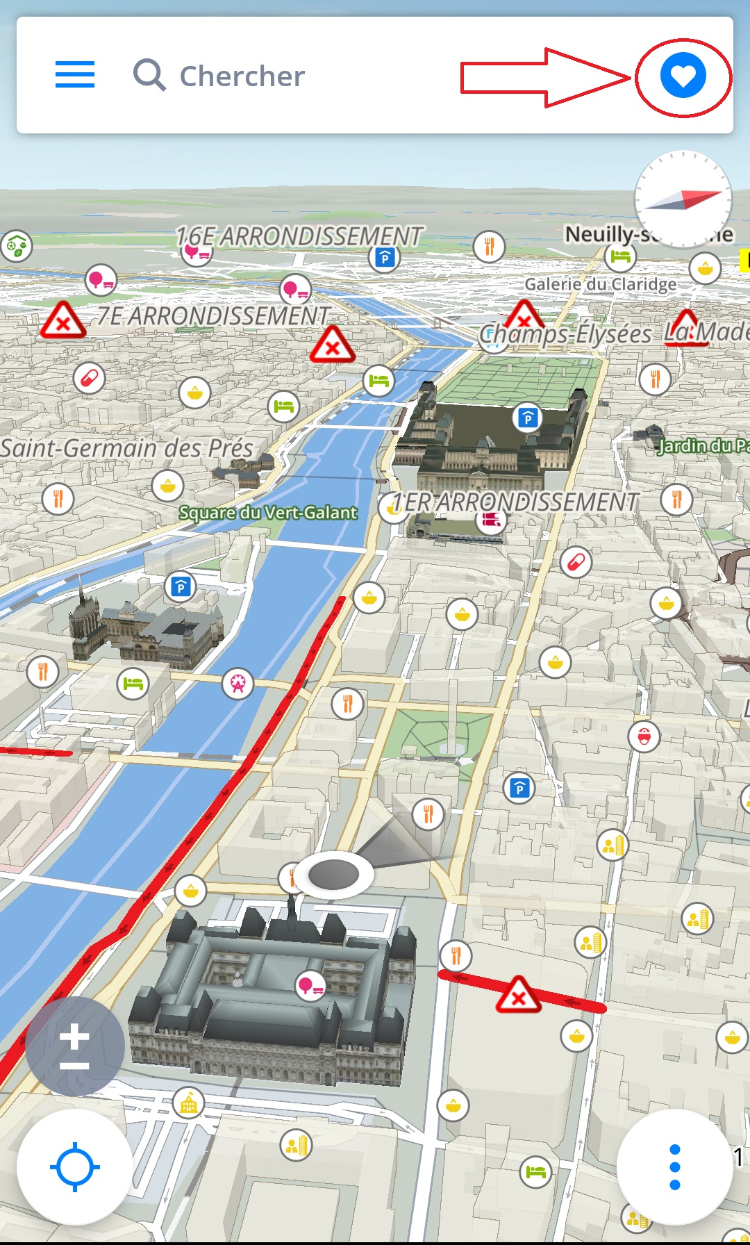 Naviguer vers Domicile / Travail - Sygic GPS Navigation for Android