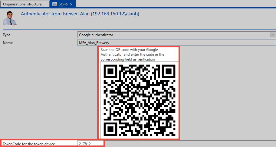 Multifactor authentication - Password Safe V8 - 8 6 0