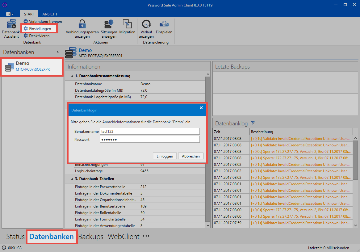 Multifactor authentication - Password Safe V8 - 8 8 0