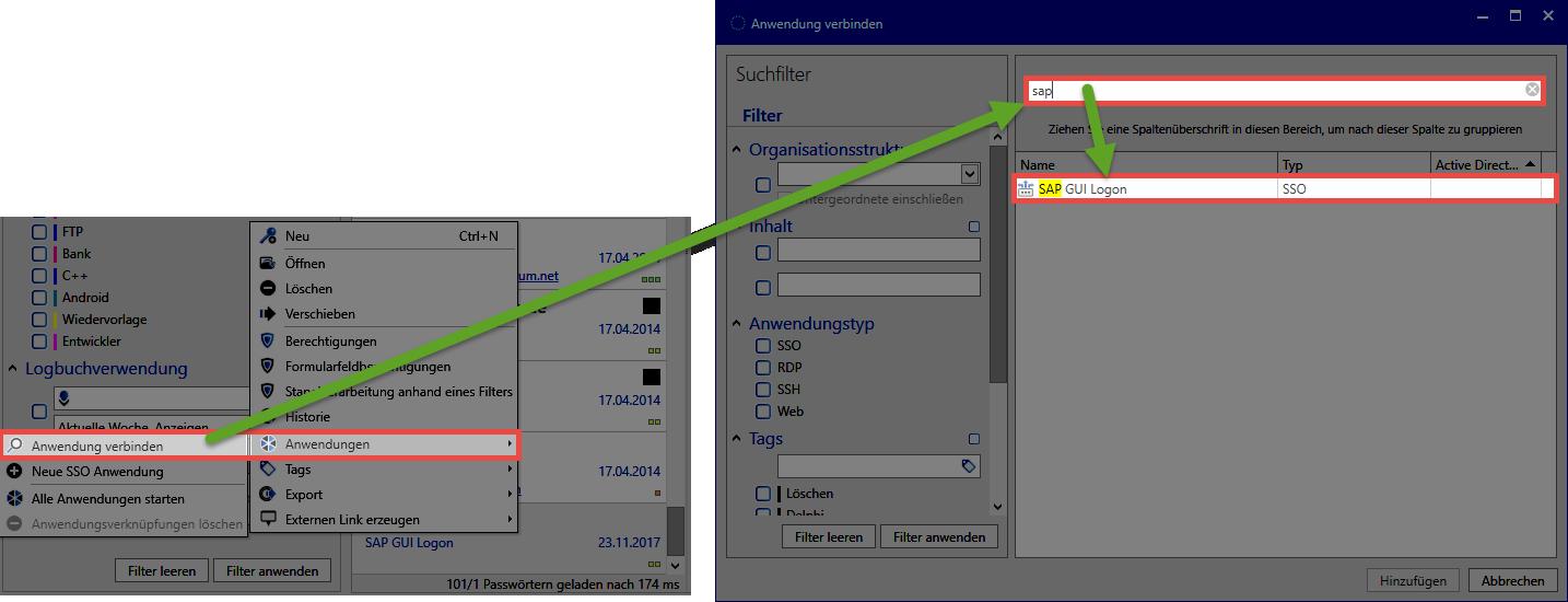 SAP GUI logon - Password Safe V8 - 8 8 0