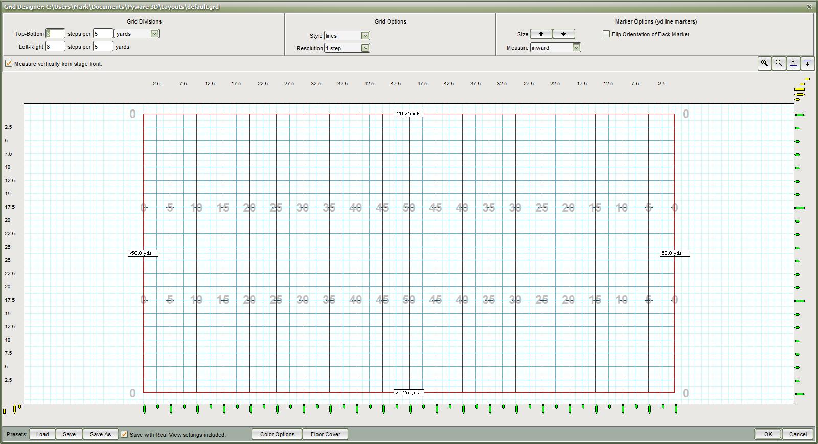 grid designer - pyware 3d user guide