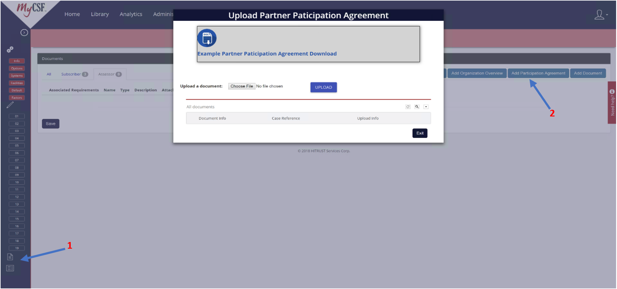 Attaching A Third Party Participation Agreement Mycsf 20 1