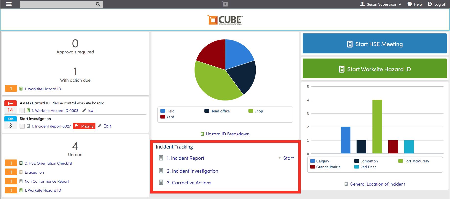 Processes group widget horizon north cube data management hse user help 1 - Portal entree ownership ...