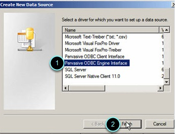 D  How To Create An Engine And Client ODBC Connection