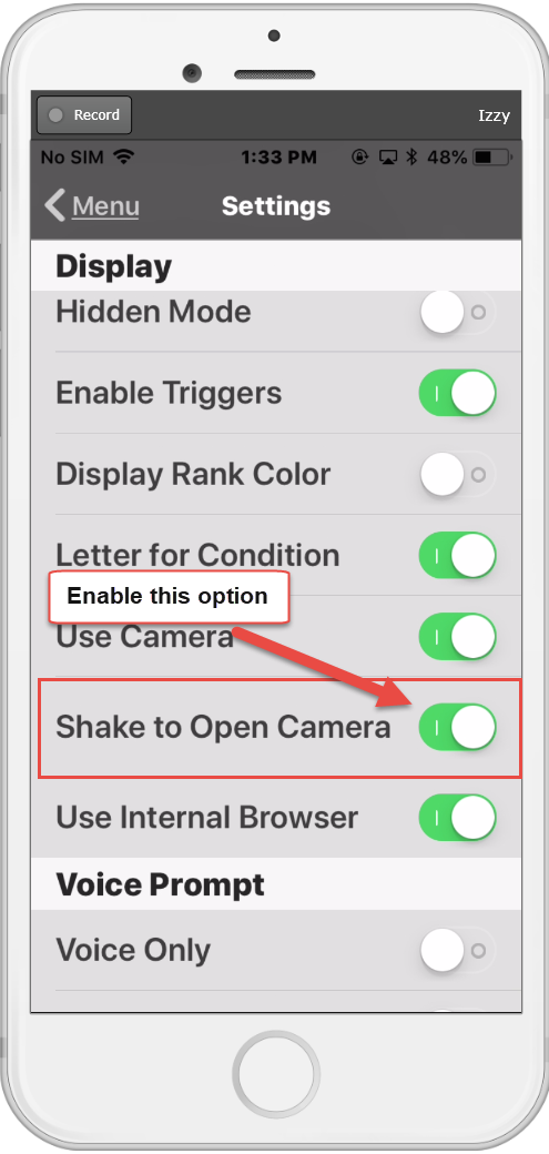 Camera (Not Recommended) - ASellerTool Solutions User Guide - 1
