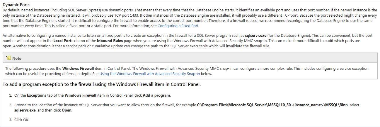 MSDTC & Firewall Configuration - Periscope GC - Product