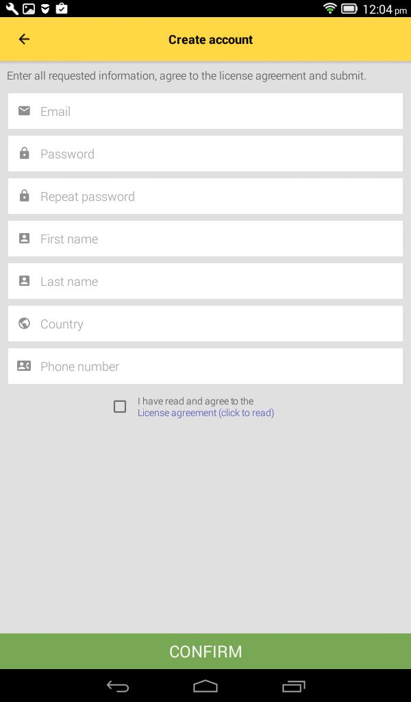 Getting Started Passenger App 1